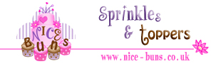 Nice-Buns Sprinkle's Toppers & Sugarcraft
